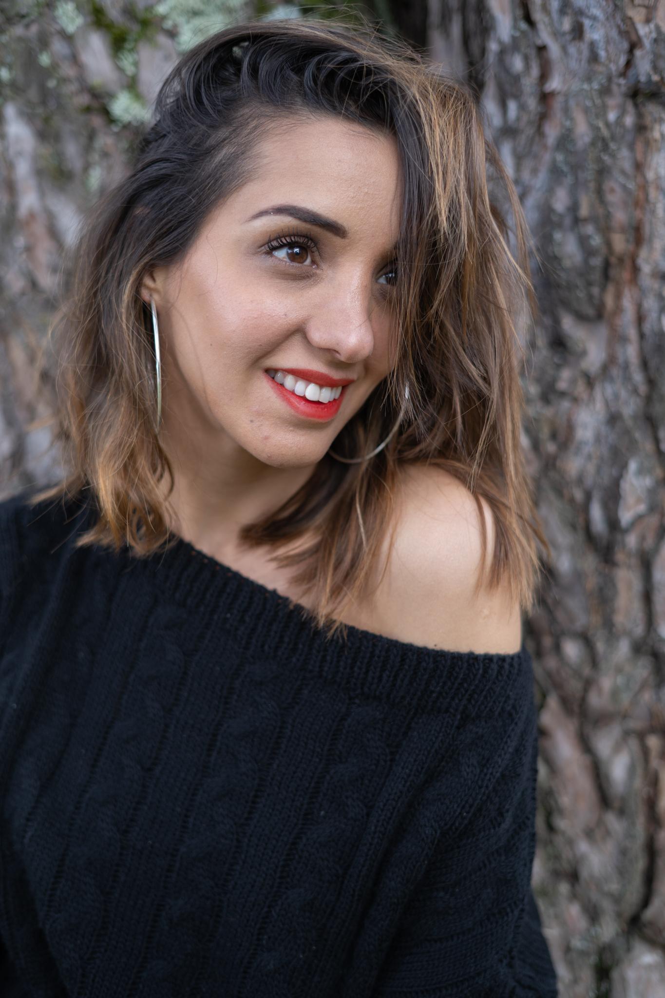 sourire dans les bois