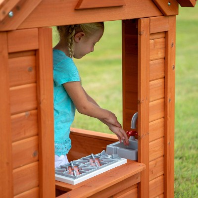 Top 10 Outdoor Playhouses To Buy in 2019 | BornCute on Backyard Discovery Pavilion id=89252
