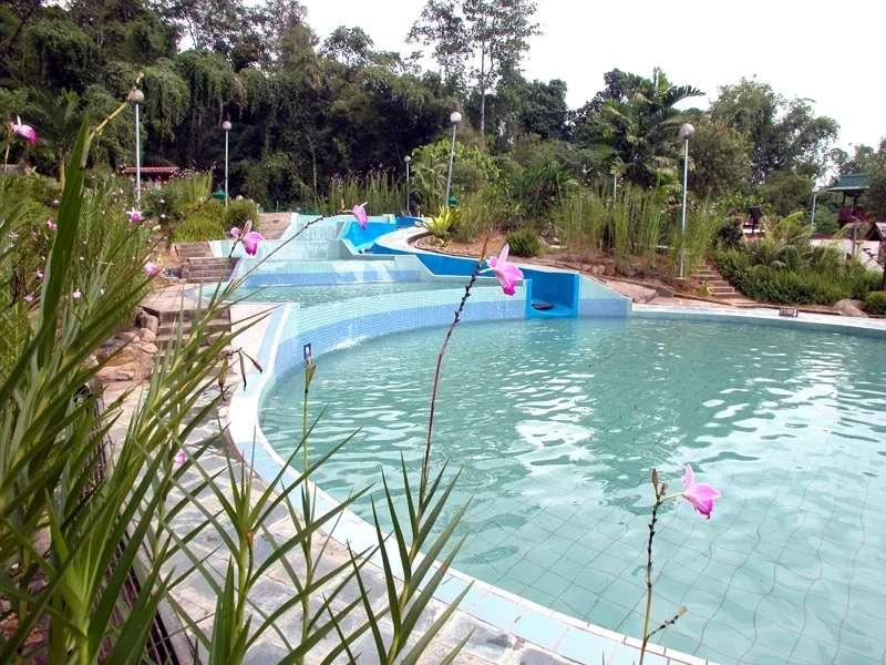 Poring Hot Springs, Sabah, Malaysia.