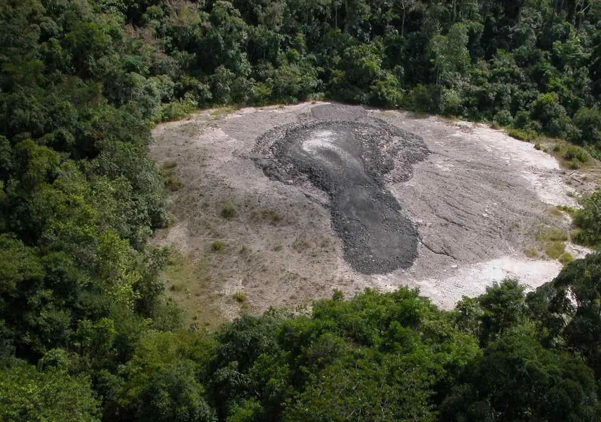 tabin wildlife reserve mud volcano
