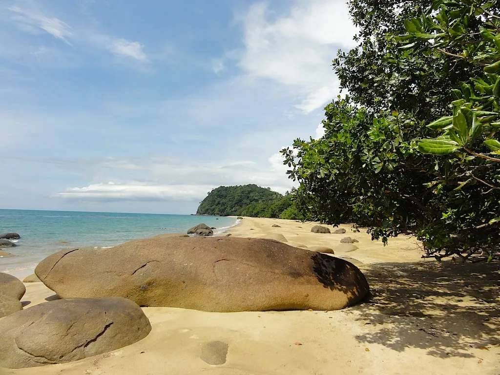 Beach at Tanjung Datu National Park