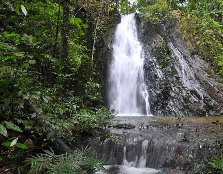 Enseluai waterfall, Ulu Ai, Sarawak