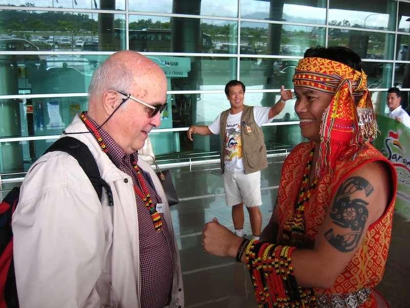 orneo Adventure at Kuching airport, Sarawak, Malaysia