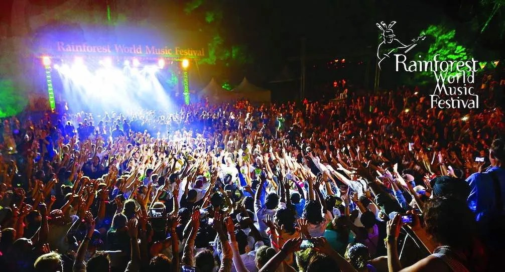 rainforest world music festival, Kuching