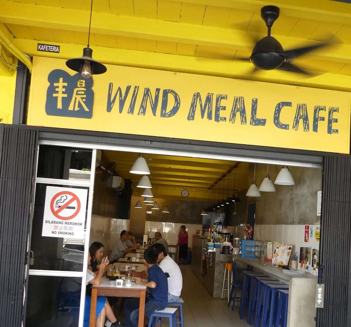 Wind Meal Cafe, Kuching