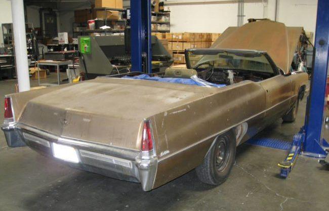 Mobil Cadilac 1969 sebelum modifikasi