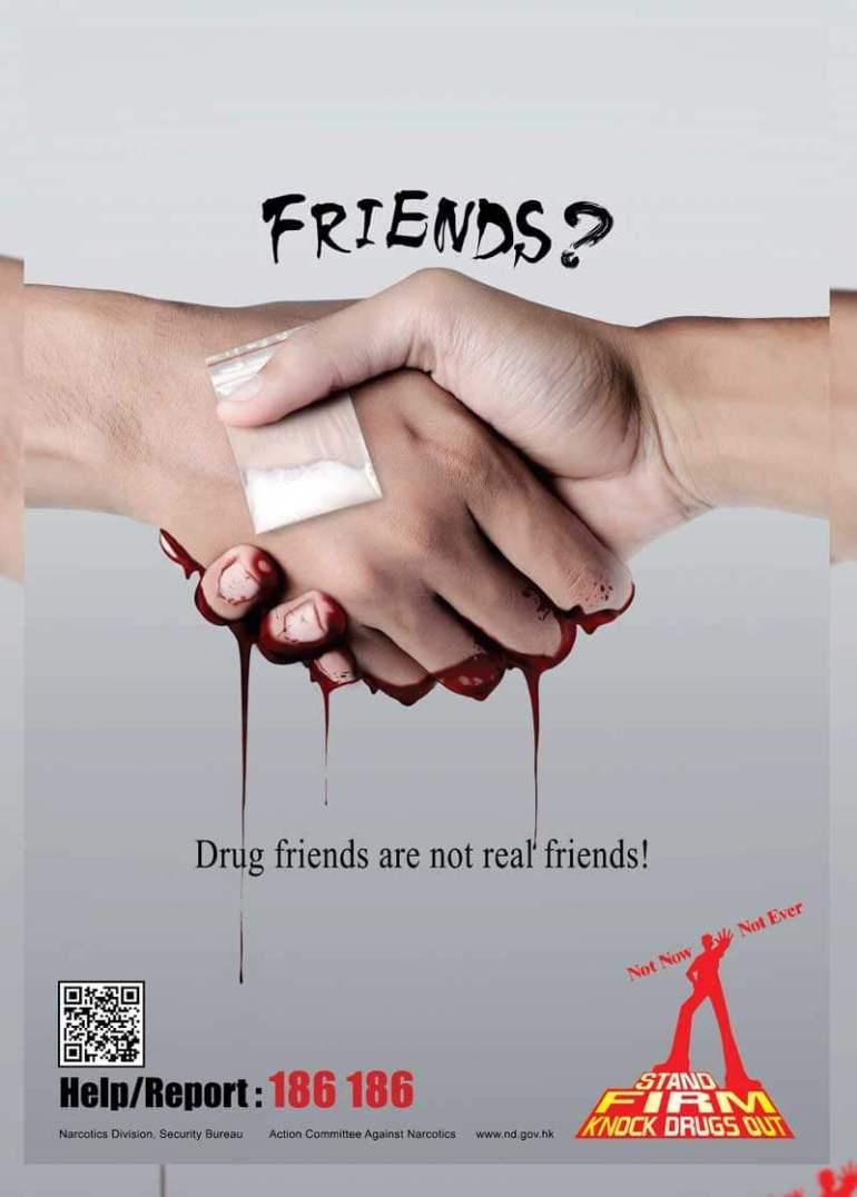 poster penyebaran narkoba