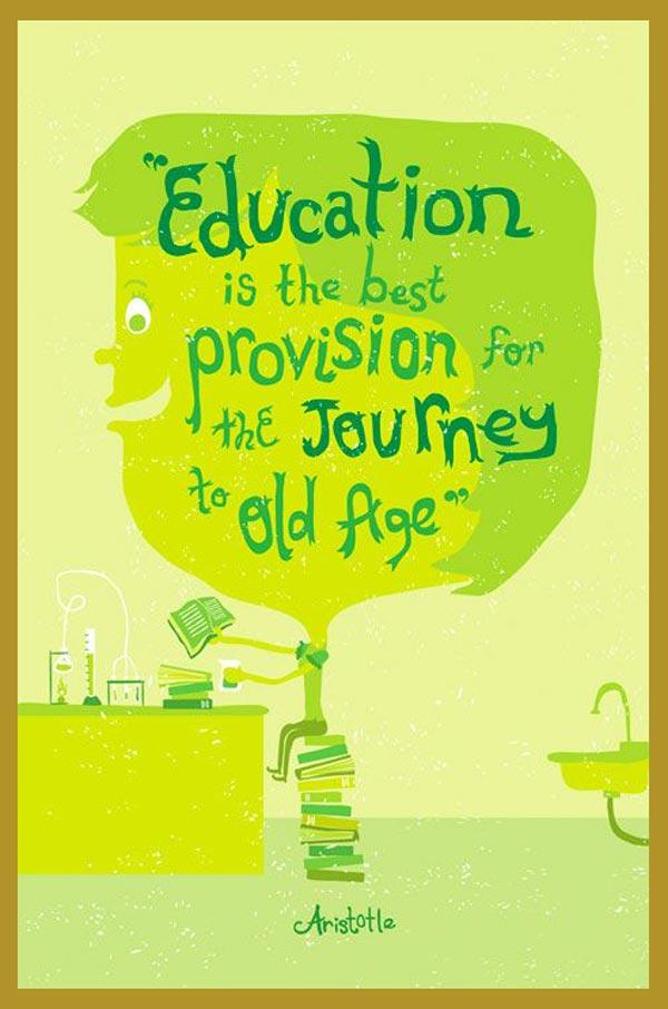 KREATIF DijaminTakjub Saat Melihat Poster Pendidikan Ini!