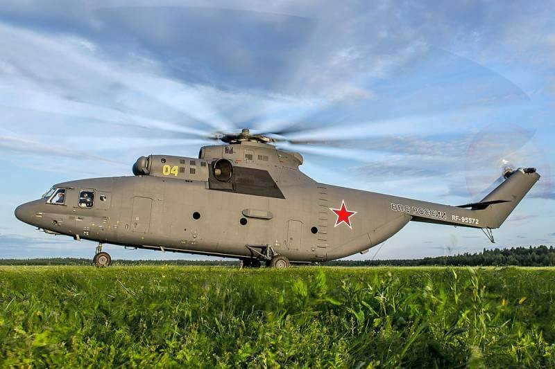 Helikopter Terbesar di Dunia Mil Mi-26