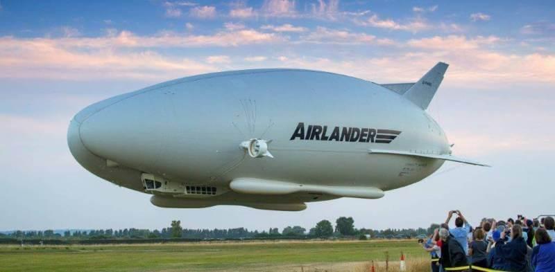 pesawat terbesar di dunia HAV airlander 10