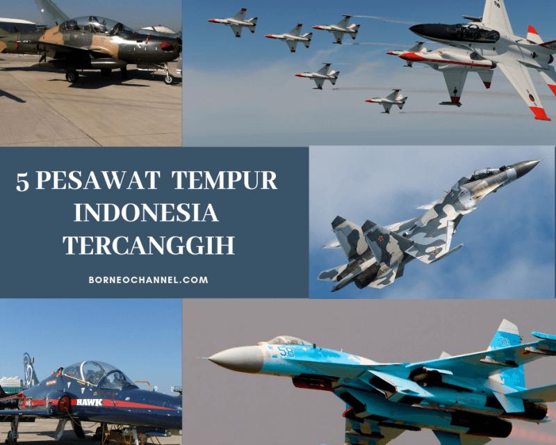 Daftar Pesawat Tempur Indonesia Tercanggih