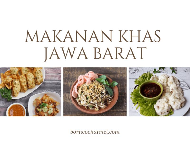 Makanan di Jawa Barat