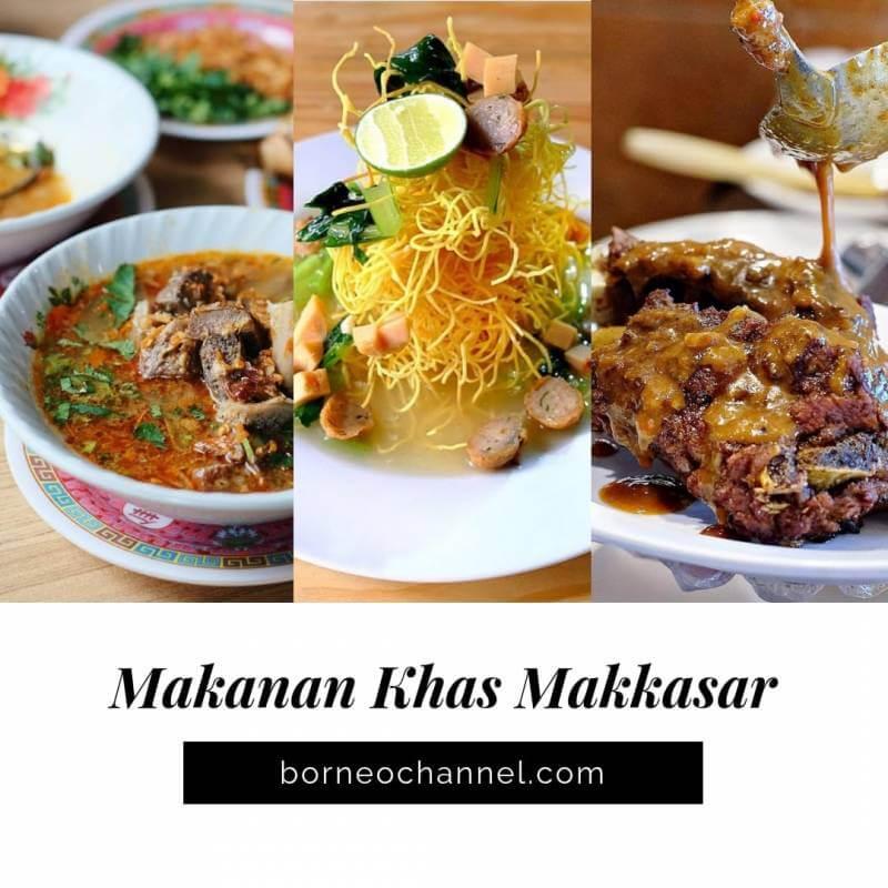 [Super Enak]!!! Makanan Khas Makassar Yang Bikin Lidah Kecanduan!