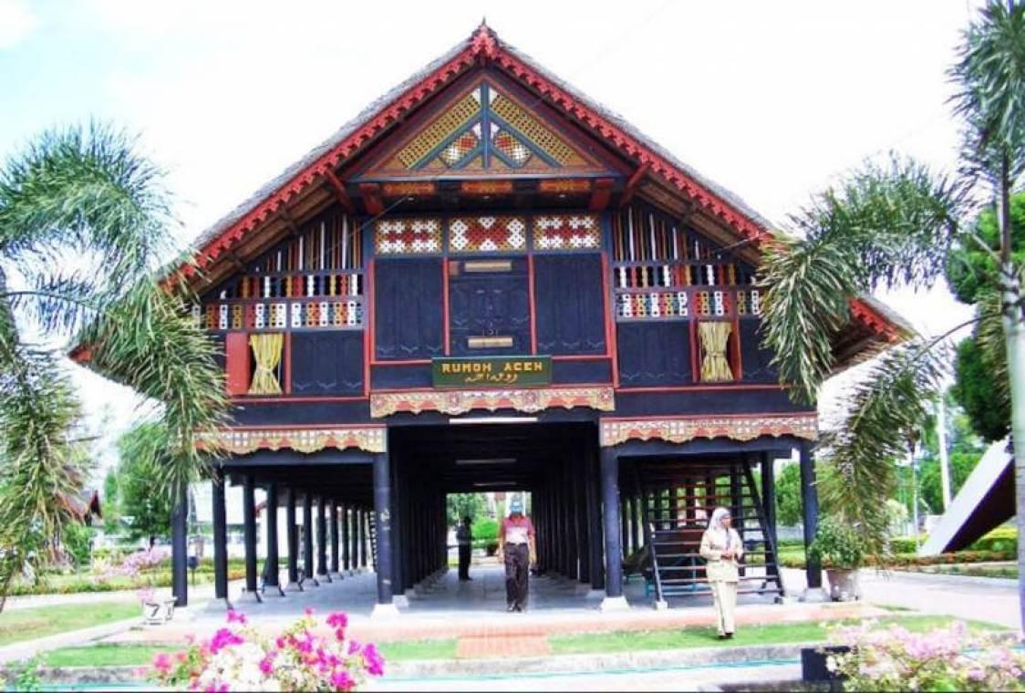 Top Five Cara Gambar Rumah Adat Aceh