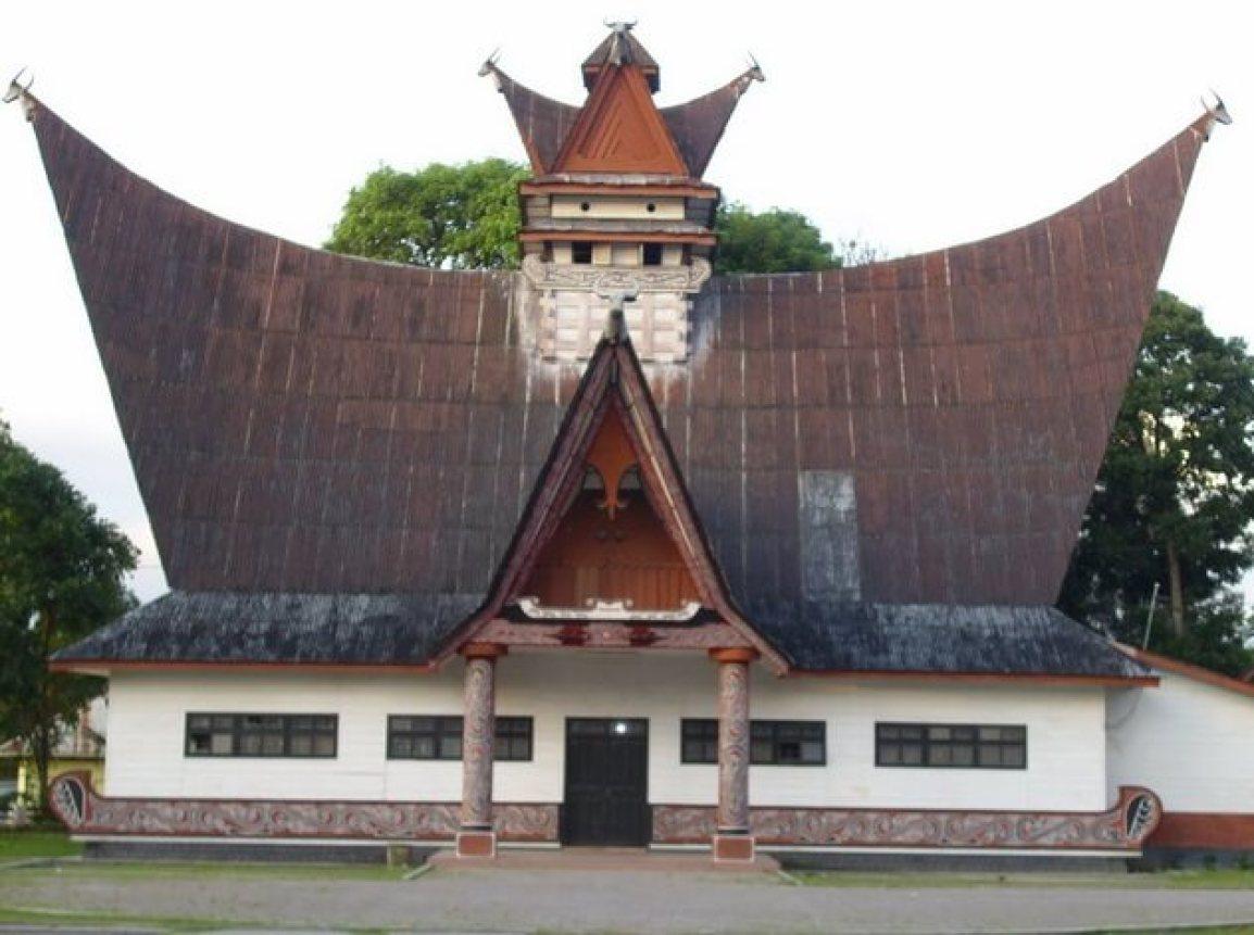 96 ] Gambar Kartun Rumah Adat Sumatera Barat Terbaru