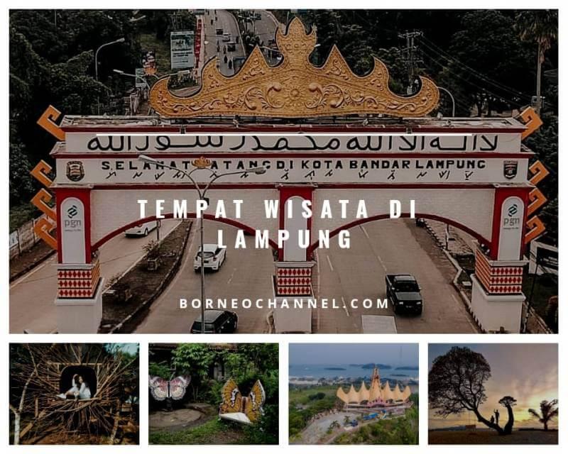 Tempat Wisata Menarik di Lampung Beserta Harga Tiket Masuknya !!