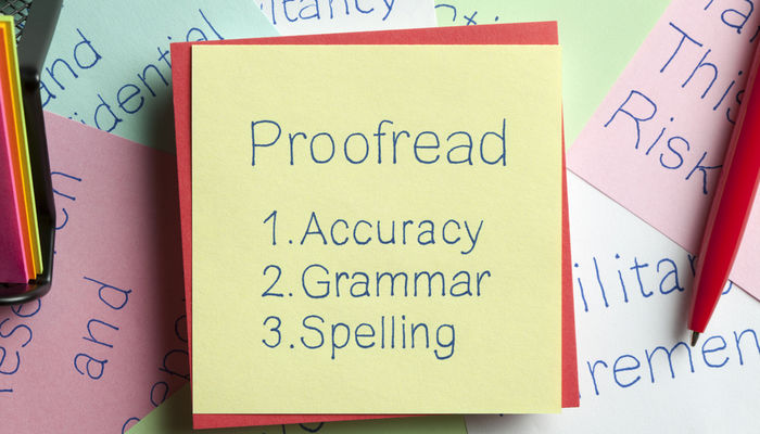 konsep proofreading