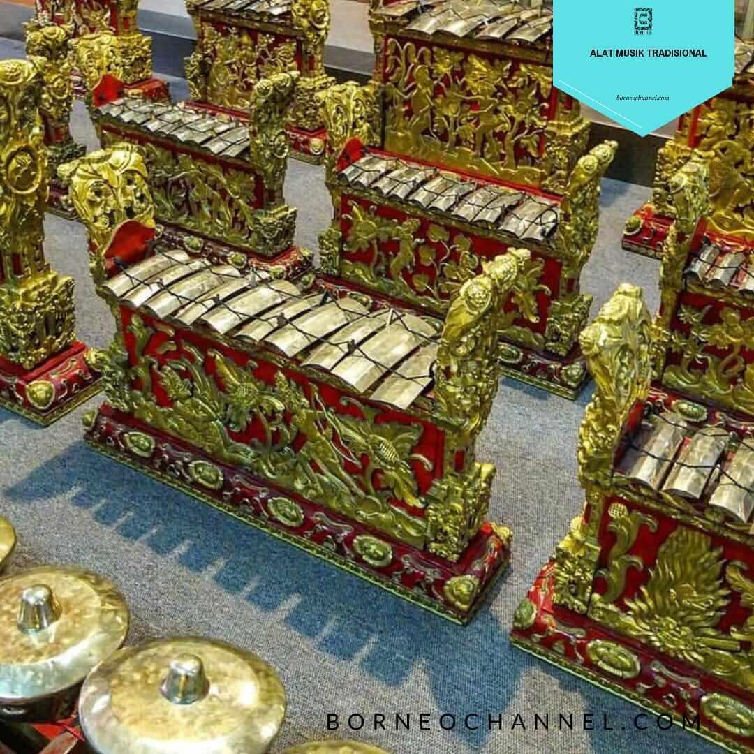 Kumpulan Alat Musik Tradisional Indonesia Beserta Gambarnya