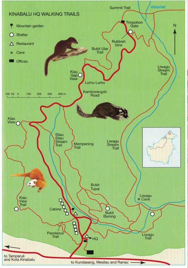 Kinabalu Walking Trails