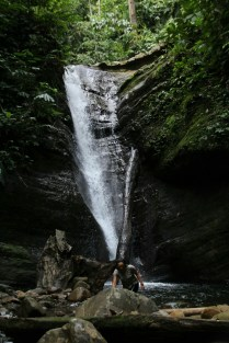 Maya Fall in Imbak Canyon.