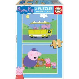 gurli gris, gurli gris puslespil, puslespil med gurli gris, gave til 2 årige, gaver med gurli gris