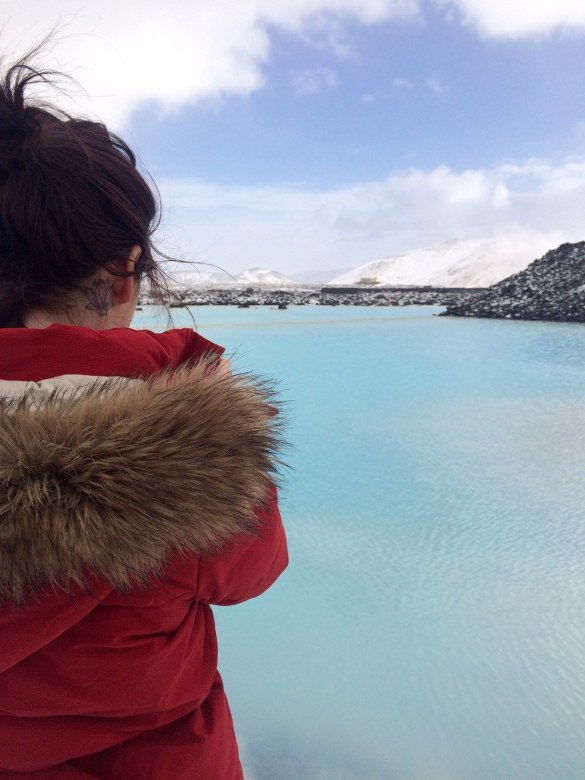 Kate Blue Lagoon Iceland