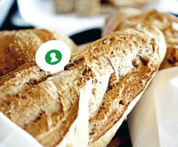 Nøglehulsmærket Brød