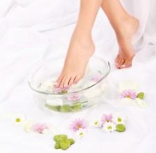 hudpleje og Huden til lækre fødder.
