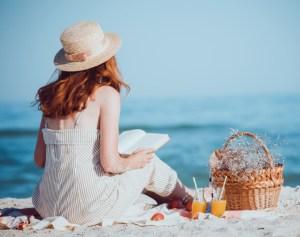 sommerferien på stranden