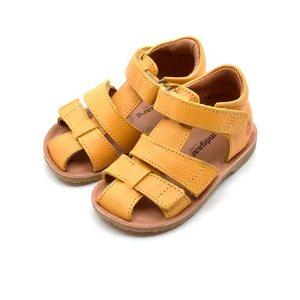 Gule forårs sandaler fra GrowingFeet