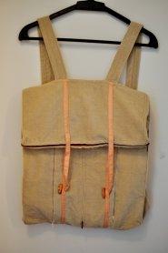 Expandable fabric shopping bag