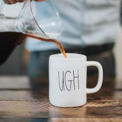 Every Monday morning UGH is the sentiment I wake up with, while coffee is the medicine that cures my weekend ailments.