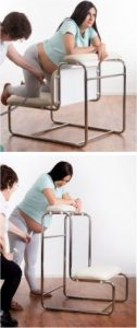 Aquabirths Hi-Lo Keeling Birth Chair