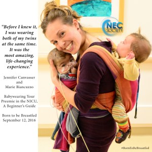 Top Tips On Babywearing Your Premature Baby Born To Be Breastfed