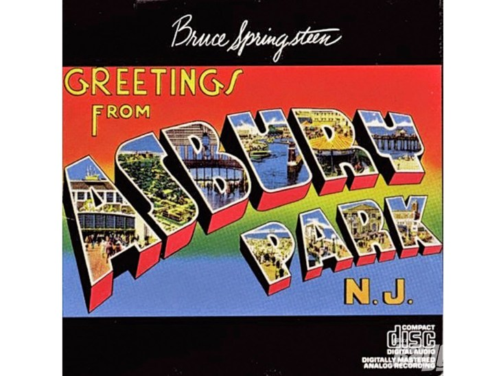 January 5 bruce springsteen released greetings from ashbury park nj this boy has a lot more of the dylan spirit than john prine his songs are filled with the absurdist energy and heart on sleeve pretension that made dylan m4hsunfo