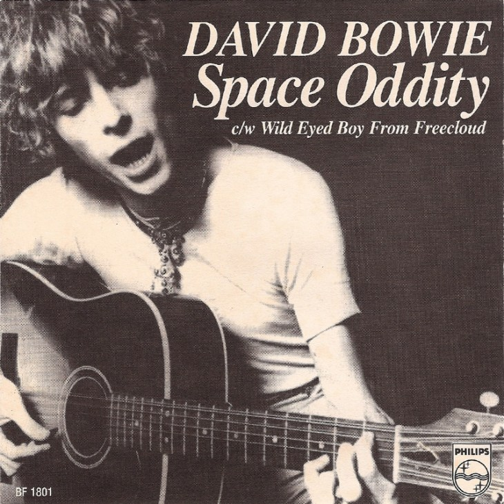 july 11 david bowie released the single �space oddity� in