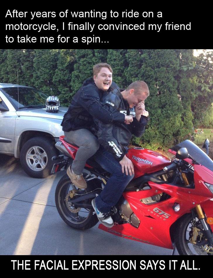Biker Meme Fail Biker Friend Born To Ride Motorcycle