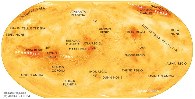 A Brief Tour of the Solar System – Venus | Born to Science