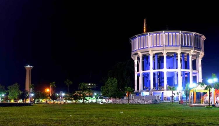 ILUSTRASI : Kondisi malam alun alun Kota Magelang akan ramai dengan program moncer serius 2020 (Foto:Internet)