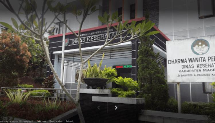 NEWS: Kantor Dinas Kesehatan Kabupaten Magelang (Foto: GMap)