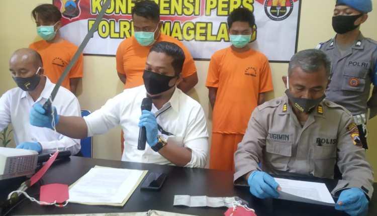 Polres Magelang tetapkan dua orang DPo kasus Geng Motor di Muntilan