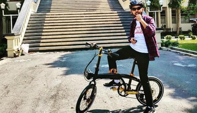 URBAN BIKE: Pesepeda dengan Pacific Noris Pro. (Sumber: instagram saryan_adi_yanto)