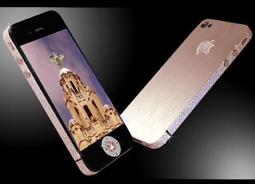 Stuart Hughes iPhone 4 Diamond Rose (Rp 74 miliar)