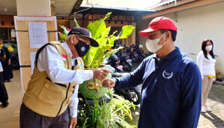Wali Kota Magelang saat meninjau pelaksaan PPKM di wilayahnya (20/1/2021)