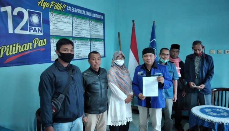 Tim Formatur MUSDA PAN Kabupaten Magelang saat berada di Kantor DPD
