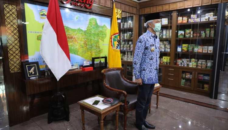 Ganjar Pranowo saat peringati Hari Kebangkitan Nasional
