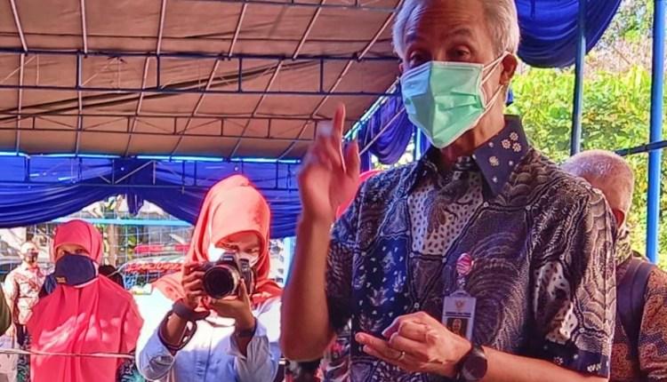 Ganjar Pranowo saat berkunjung ke Magelang bicara soal polemik lahan Pemkot Magelang dan TNI