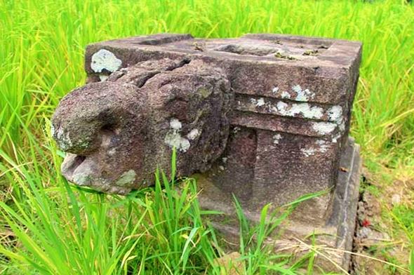 artefak yoni bernama candi asu