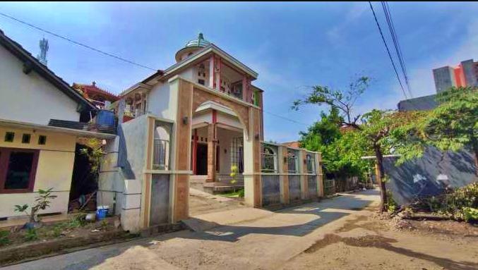 Rumah Moch Imam Rofii, nasabah bank Mandiri yang uang dalam rekeningnya bobol Rp5,8 miliar