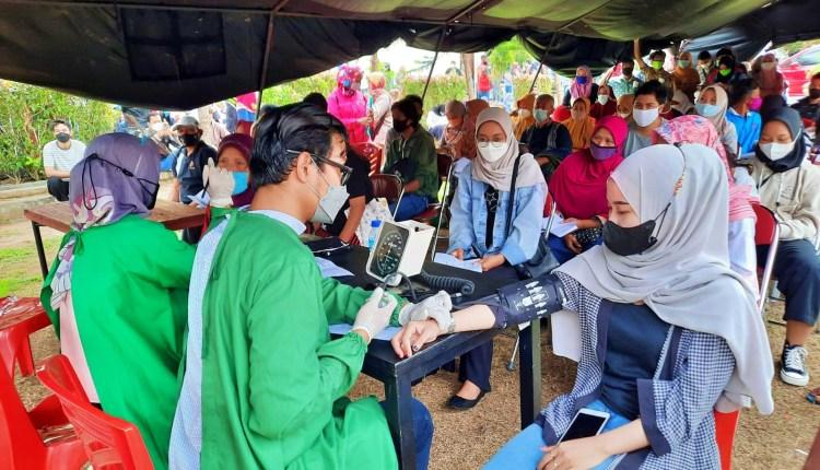 vaksinasi massal oleh Polres Magelang kembali